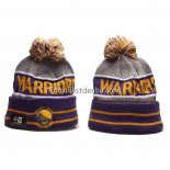 Bonnet Golden State Warriors Volet Gris