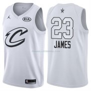 Maillot All Star 2018 Cleveland Cavaliers Lebron James 23 Blanc
