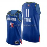 Maillot All Star 2020 Eastern Conference Trae Young Bleu