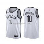 Maillot Brooklyn Nets Justin Anderson Association Blanc