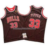 Maillot Chicago Bulls Scottie Pippen Mitchell & Ness Noir