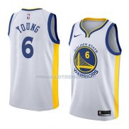 Maillot Golden State Warriors Nick Young Association 2018 Blanc
