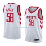 Maillot Houston Rockets Gerald Green Association 2018 Blanc