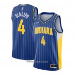 Maillot Indiana Pacers Victor Oladipo Ville 2020-21 Bleu