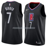Maillot Los Angeles Clippers Sam Dekker Statement 2018 Noir
