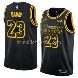 Maillot Los Angeles Lakers Anthony Davis Ciudad 2019-20 Noir