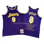 Maillot Los Angeles Lakers Kobe Bryant Volet