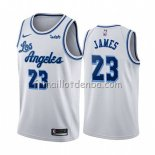 Maillot Los Angeles Lakers Lebron James Classic 2019-20 Blanc