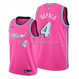 Maillot Miami Heat Kz Okpala Earned 2019-20 Rosa