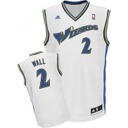 Maillot Basket Washington Wizards Wall 2 Blanc