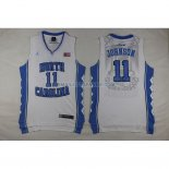 Commemorer Maillot Basket Johnson 11 Blanc 2013