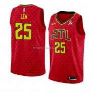 Maillot Atlanta Hawks Alex Len Statement 2018-19 Rouge