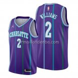 Maillot Charlotte Hornets Marvin Williams Classic 2019-20 Volet