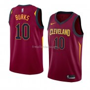Maillot Cleveland Cavaliers Alec Burks Icon 2018 Rouge