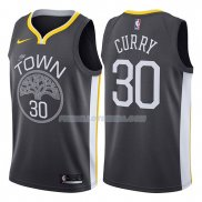 Maillot Basket Golden State Warriors Stephen Curry Statement 2017-18 30 Gris