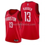 Maillot Houston Rockets James Harden Earned 2019 Rouge