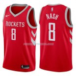 Maillot Houston Rockets Le'bryan Nash Icon 2017-18 8 Rojo