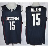Maillot Basket NCAA Uconn Huskies Walker 15 Noir