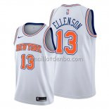 Maillot New York Knicks Henry Ellenson Statement Blanc