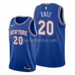 Maillot New York Knicks Kevin Knox Statement Bleu