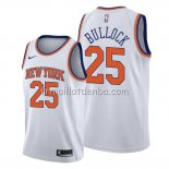 Maillot New York Knicks Reggie Bullock Association Blanc2