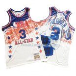 Maillot All Star 2003 Allen Iverson Mitchell & Ness Blanc