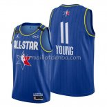 Maillot All Star 2020 Atlanta Hawks Trae Young Bleu