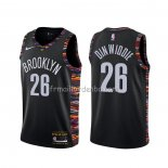 Maillot Brooklyn Nets Spencer Dinwiddie Ville Noir