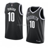 Maillot Brooklyn Nets Theo Pinson Icon 2018 Noir