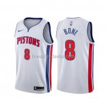 Maillot Detroit Pistons Jordan Bone Association Blanc