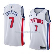 Maillot Detroit Pistons Stanley Johnson Association 2018 Blanc