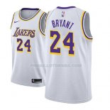 Maillot Enfant Los Angeles Lakers Kobe Bryant Association 2018-19 Blanc