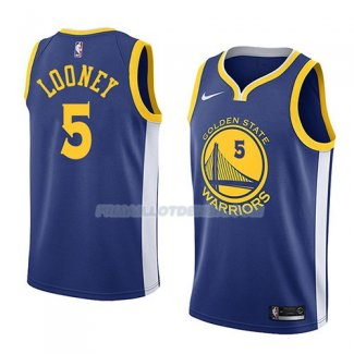 Maillot Golden State Warriors Kevon Looney Icon 2018 Bleu
