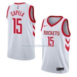 Maillot Houston Rockets Clint Capela Association 2018 Blanc