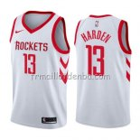 Maillot Houston Rockets James Harden Association 2019 Blanc