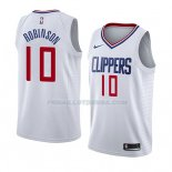 Maillot Los Angeles Clippers Jerome Robinson Association 2018 Blanc