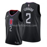 Maillot Los Angeles Clippers Kawhi Leonard Statement 2019 Noir
