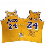 Maillot Los Angeles Lakers Kobe Bryant Jaune