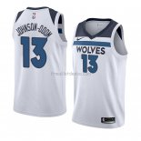 Maillot Minnesota Timberwolves Darius Johnson-odom Association 2018 Blanc