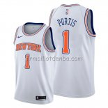 Maillot New York Knicks Bobby Portis Statement Blanc