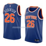Maillot New York Knicks Mitchell Robinson Icon 2018 Bleu Bleu