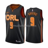 Maillot Orlando Magic Nikola Vucevic Ville Edition Noir2