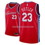 Maillot Philadelphia 76ers Jimmy Butler Statement 2018-19 Rouge