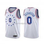 Maillot Philadelphia 76ers Josh Richardson Earned Blanc