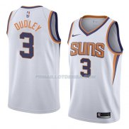 Maillot Phoenix Suns Jared Dudley Association 2018 Blanc