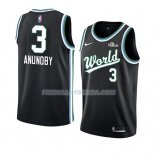 Maillot 2019 Rising Star Og Anunoby World Noir