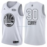 Maillot All Star 2018 Golden State Warriors Stephen Curry 30 Blanc