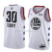 Maillot All Star 2019 Golden State Warriors Stephen Curry Blanc