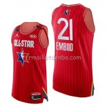 Maillot All Star 2020 Eastern Conference Joel Embiid Rouge