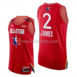 Maillot All Star 2020 Western conference Lebron James Rouge